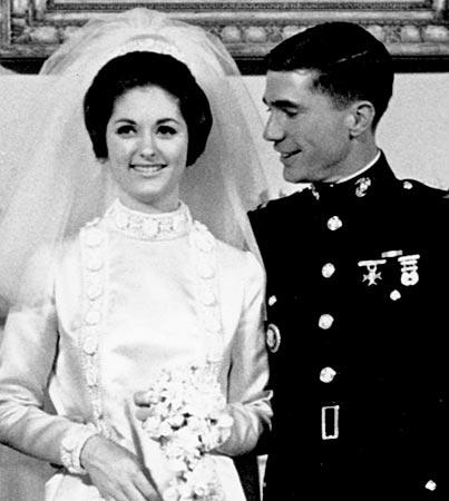 lynda bird johnson wedding dress wedding
