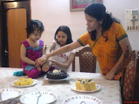 Sneegdha with Sneha & Mom - Happy Birthday