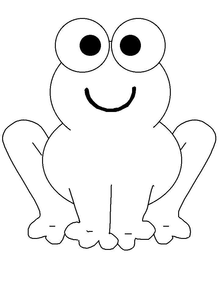 frog finger puppet template - desenho para colorir de sapo desenhos inafntis qdb