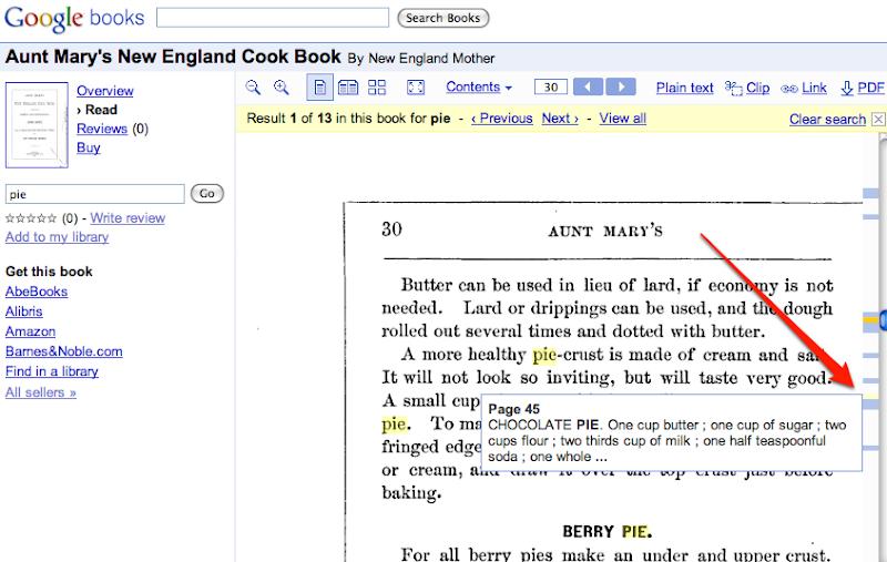 Google book search books