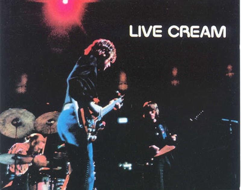 Rock On Vinyl Cream Live Cream 1970