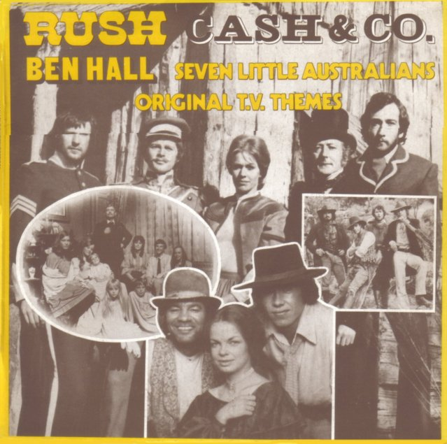 Rock On Vinyl Original T V Themes Rush Cash Amp Co Ben