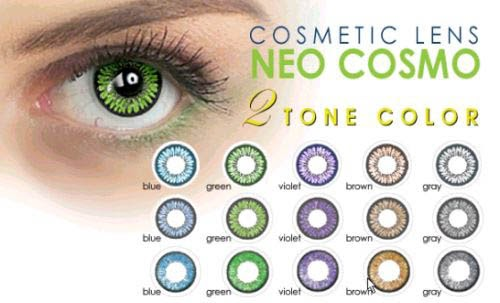 Color Contacts Guide Cosmetic Colored Contacts