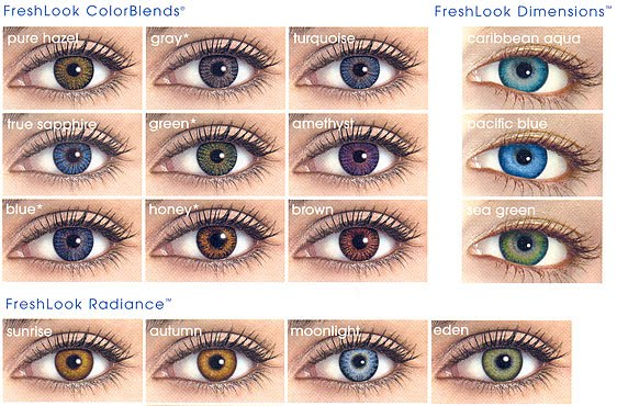 Most Natural Colored Contact Brands