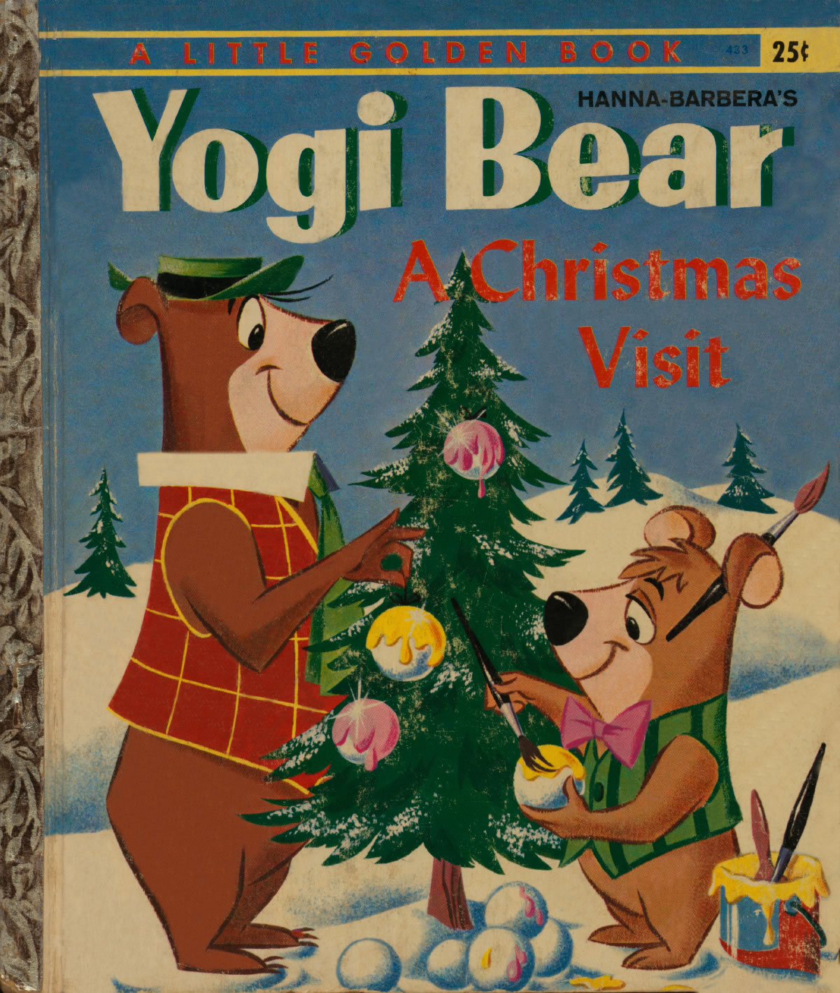 Yogis First Christmas.Yowp Yogi S Real First Christmas