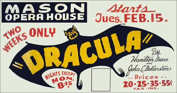 Dracula, stage play (1938)