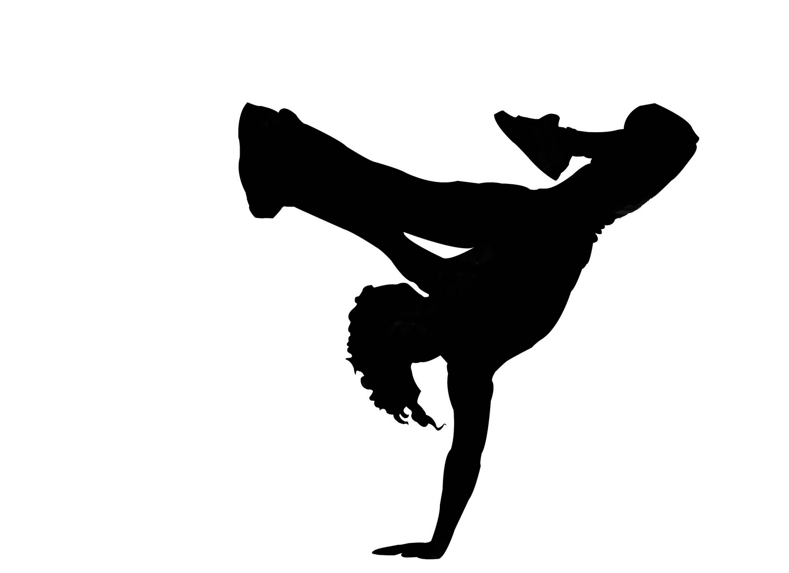 Intro to Computer Graphics: Breakdancer's Silhouette
