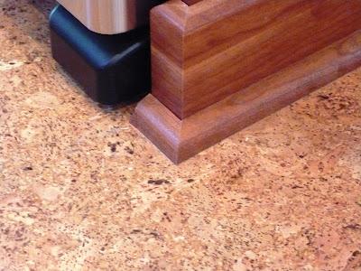 Floating Cork Floor In Kitchen