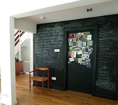 Chalk Wall Kitchen