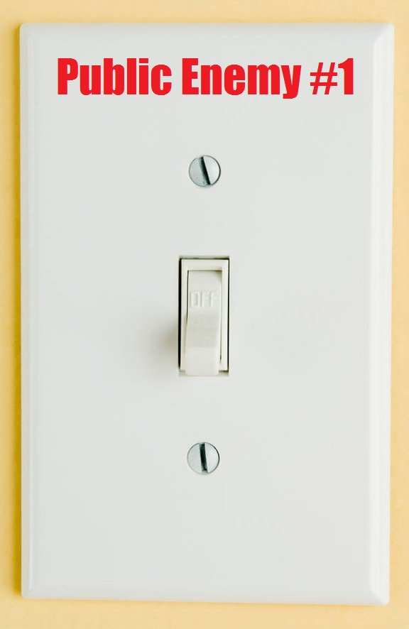 outlet covers on glass tile