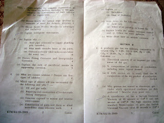 Nagpur University Engineering Applies Chemistry Papers Download