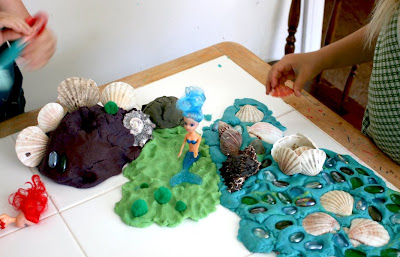 Filth Wizardry: Play Dough Mermaid Kingdom