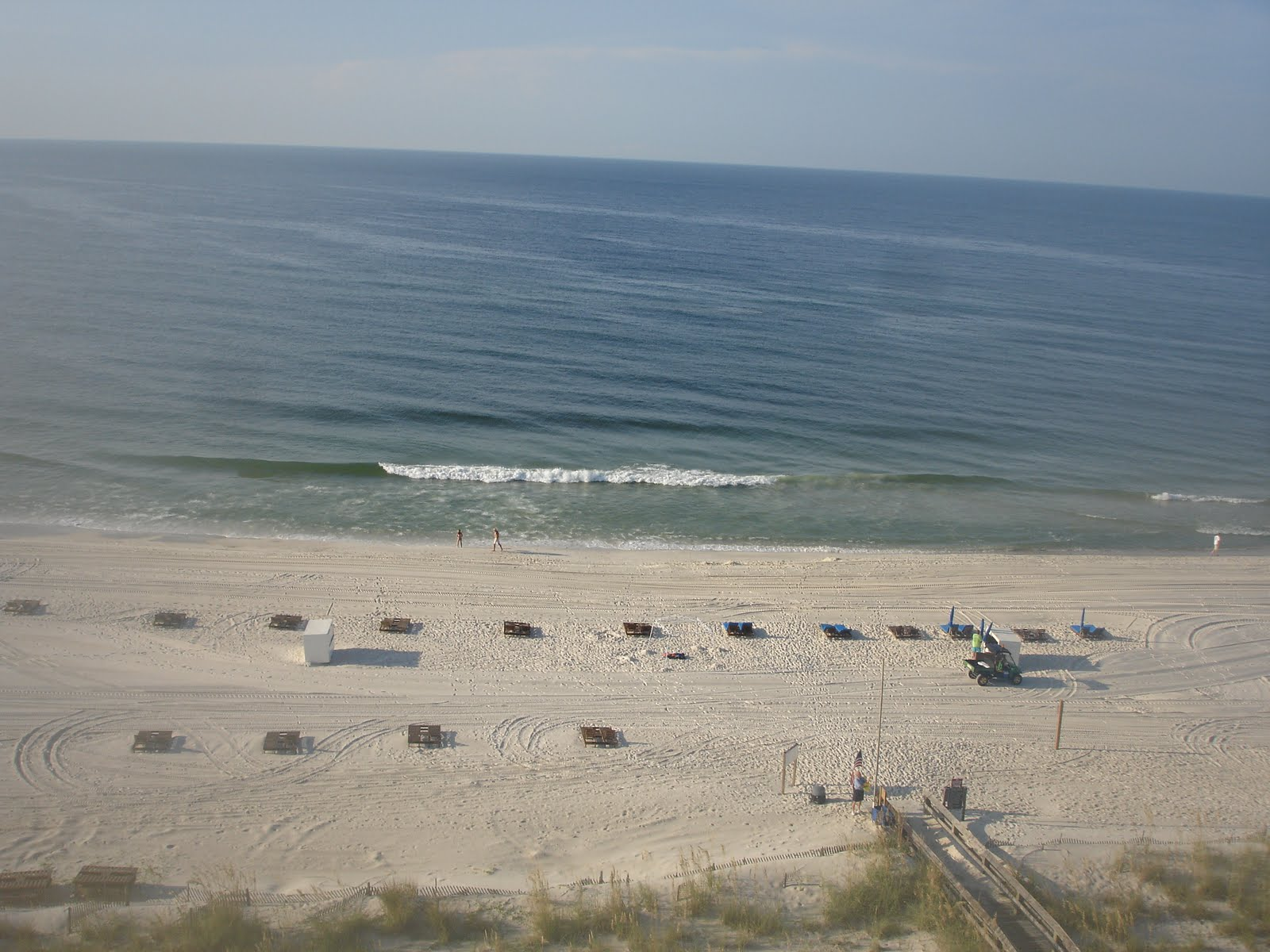 White Sand Beaches Of Gulf Ss Alabama