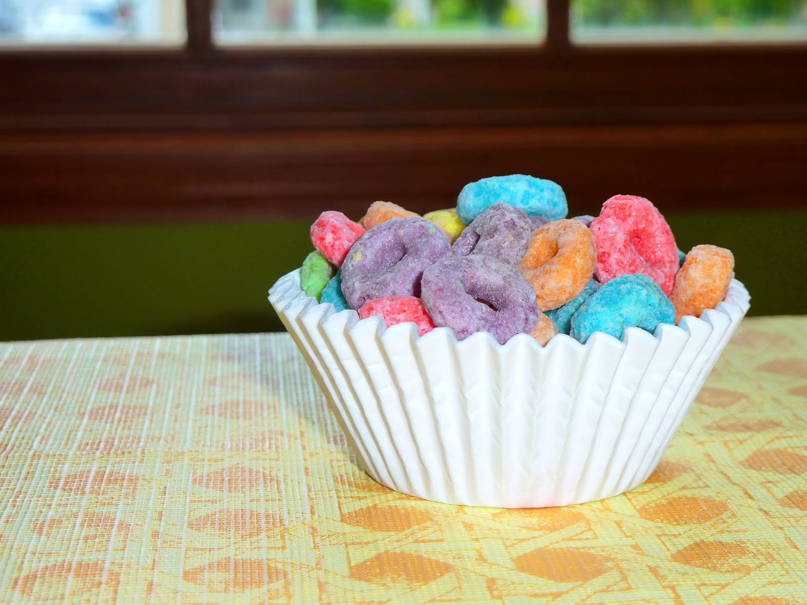 Whimsical Cookery Froot Loop Cupcakes