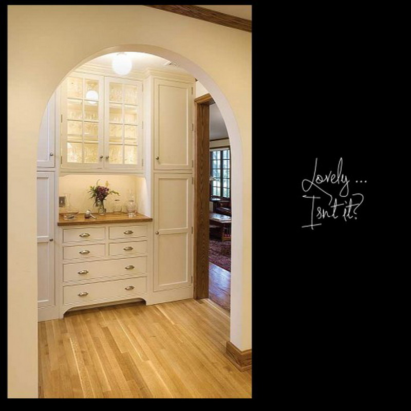 Architectural designs elegant white kitchen pantry - Kitchen pantry cabinet design plans ...