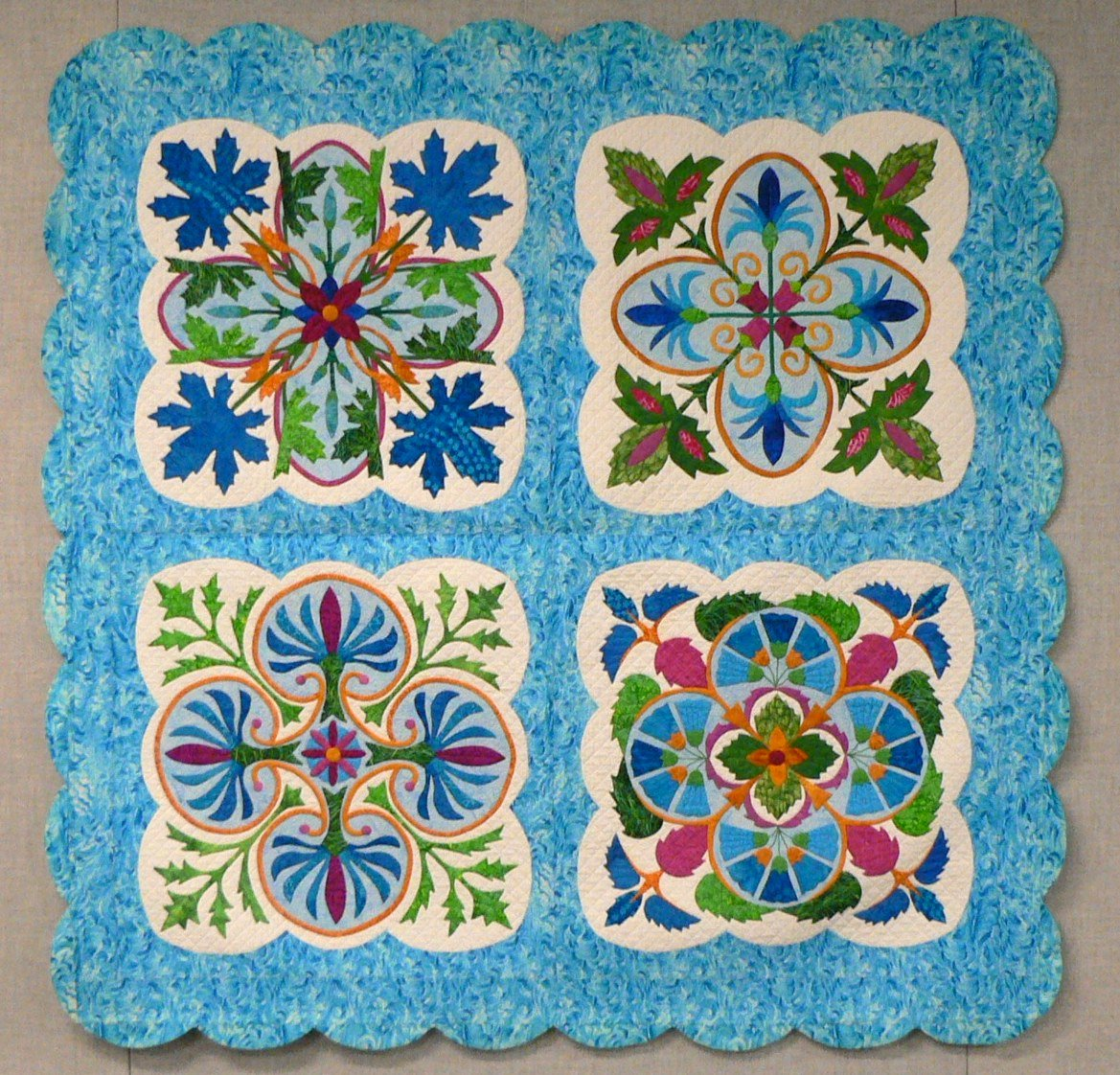 Applique Classe 2 Applique On The Go Karen Kay Buckley Class