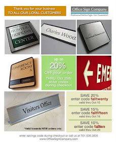 Office Sign Company Blog 2010