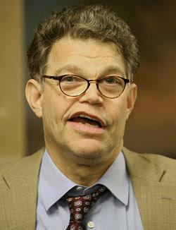 Al Franken, Democratic Comedian