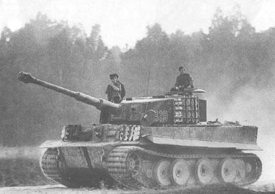 Tank Tiger, Lapis Baja Andalan Nazi