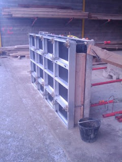 Coffrage mur beton banche