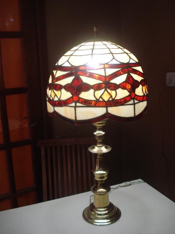 Vidrio plomo artesanias en vidrio lampara de pie 340 - Piezas para lamparas ...
