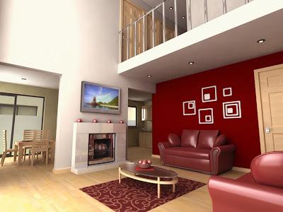 decoração interior da casa