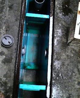 清掃完了:沈殿槽の2槽目