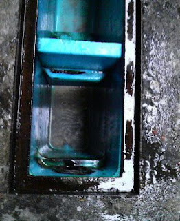 清掃完了:沈殿槽の1槽目