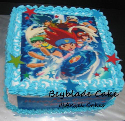 D Angel Cakes Beyblade Cake