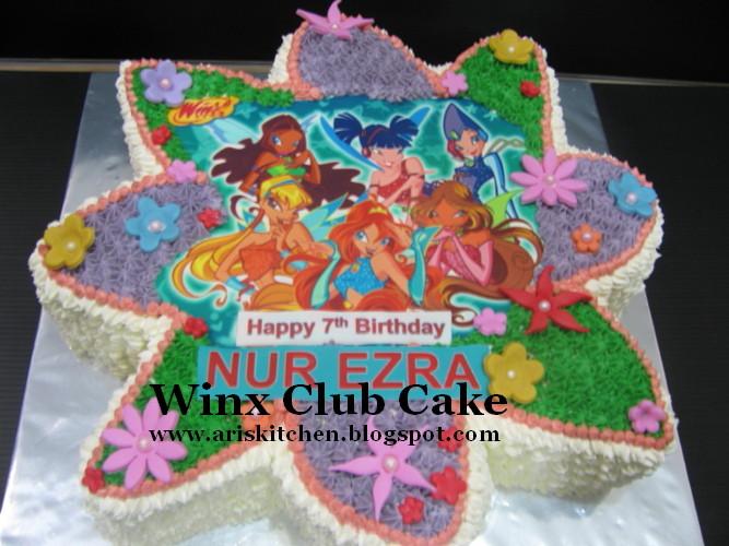 D Angel Cakes Winx Club Cake