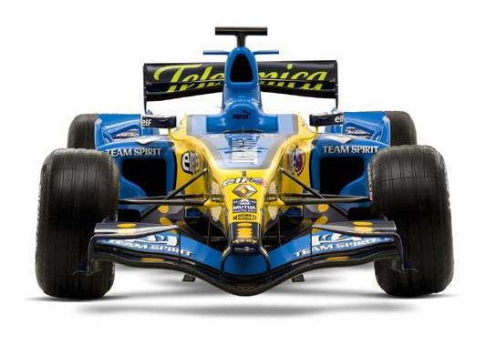 Formula one championship edition  Renault setups