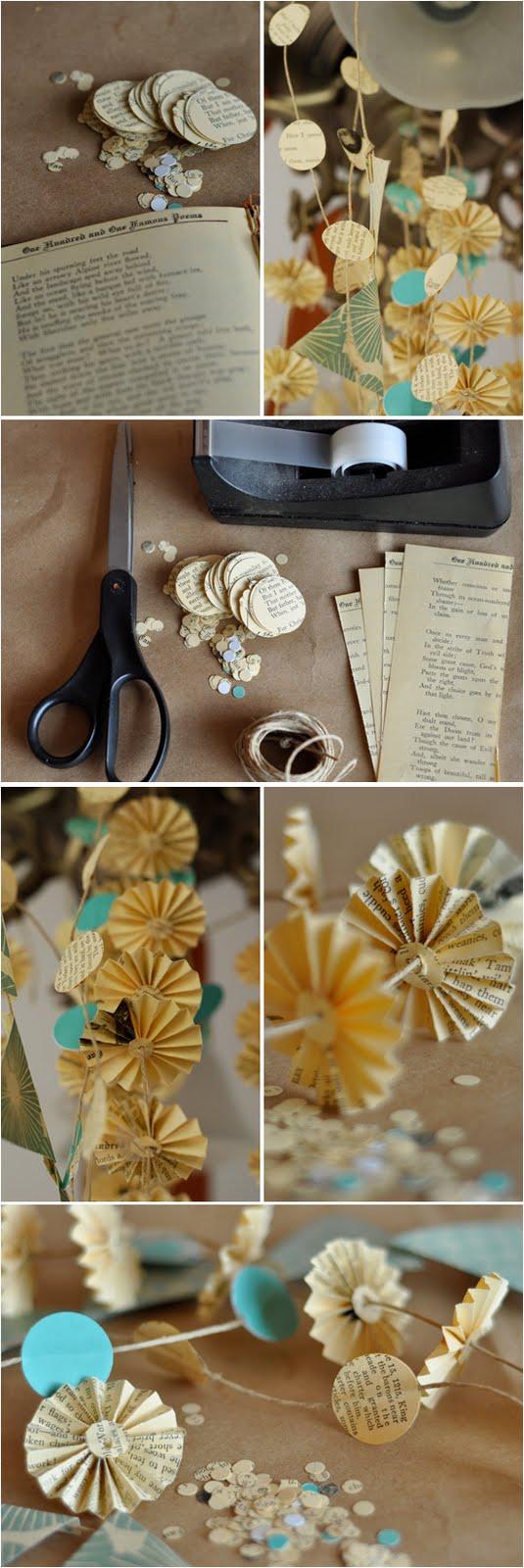 Swanky Blog: DIY Paper Pinwheels & Garlands