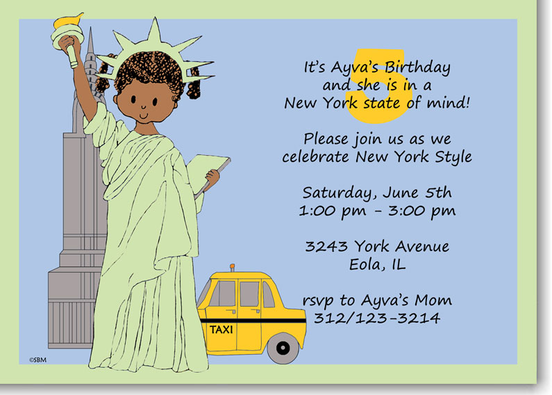 Her Daughter Ayva Had Fallen In Love With New York City And Requested A Themed Birthday Party What Cute Creative Idea