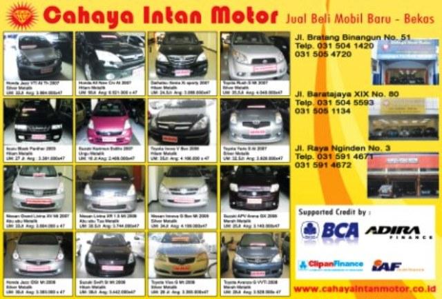 Mobil Bekas Surabaya Kapan Lagi Showroom Mobil Bekas Cahaya Intan
