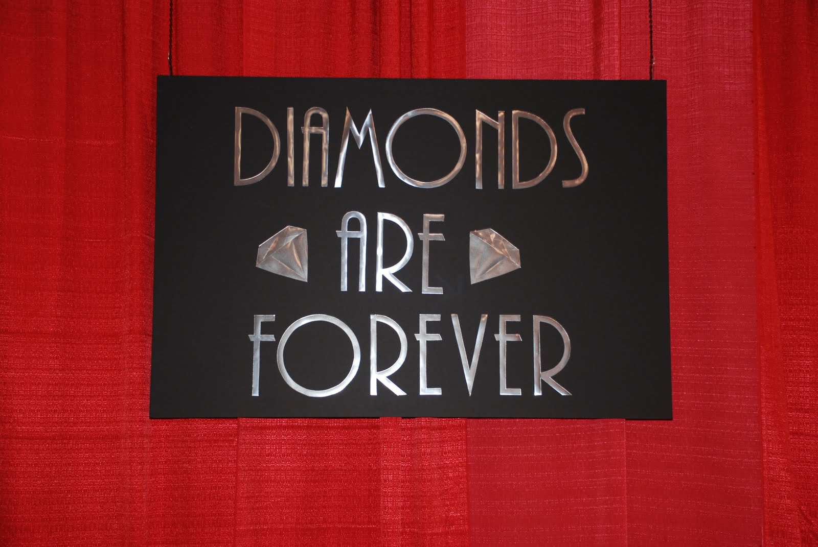 Diamonds Are Forever Theme Party