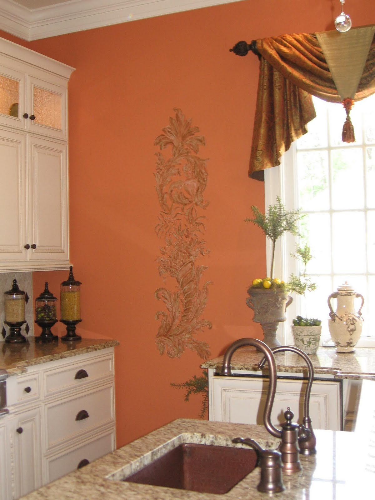 Deco wallpaper murals for What kind of paint to use on kitchen cabinets for graffitti wall art