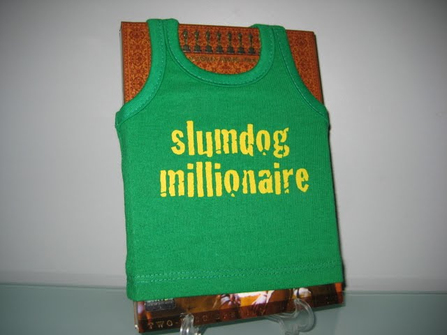 DVD Packaging slumdog millionaire t-shirt case