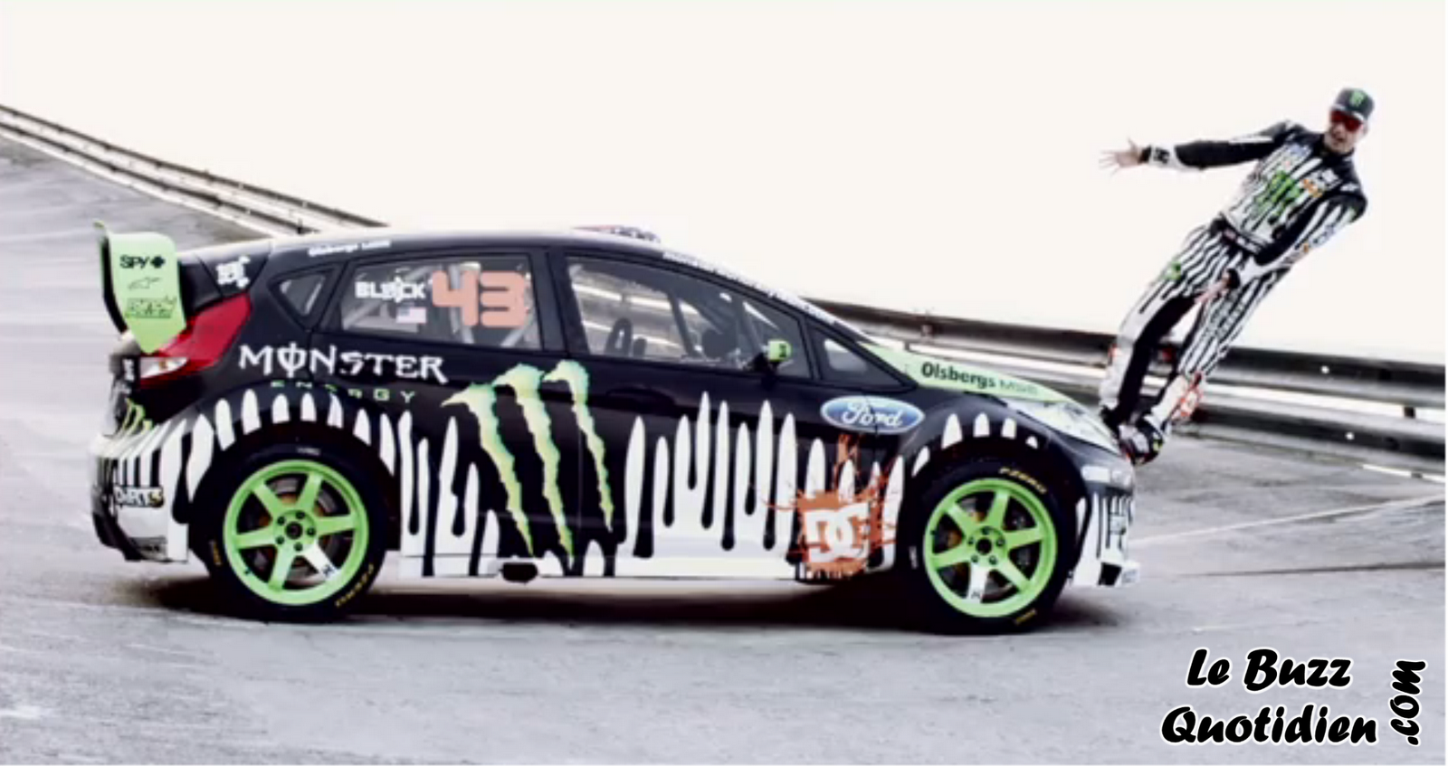 Ken Block Ford Fiesta 2011 video drift