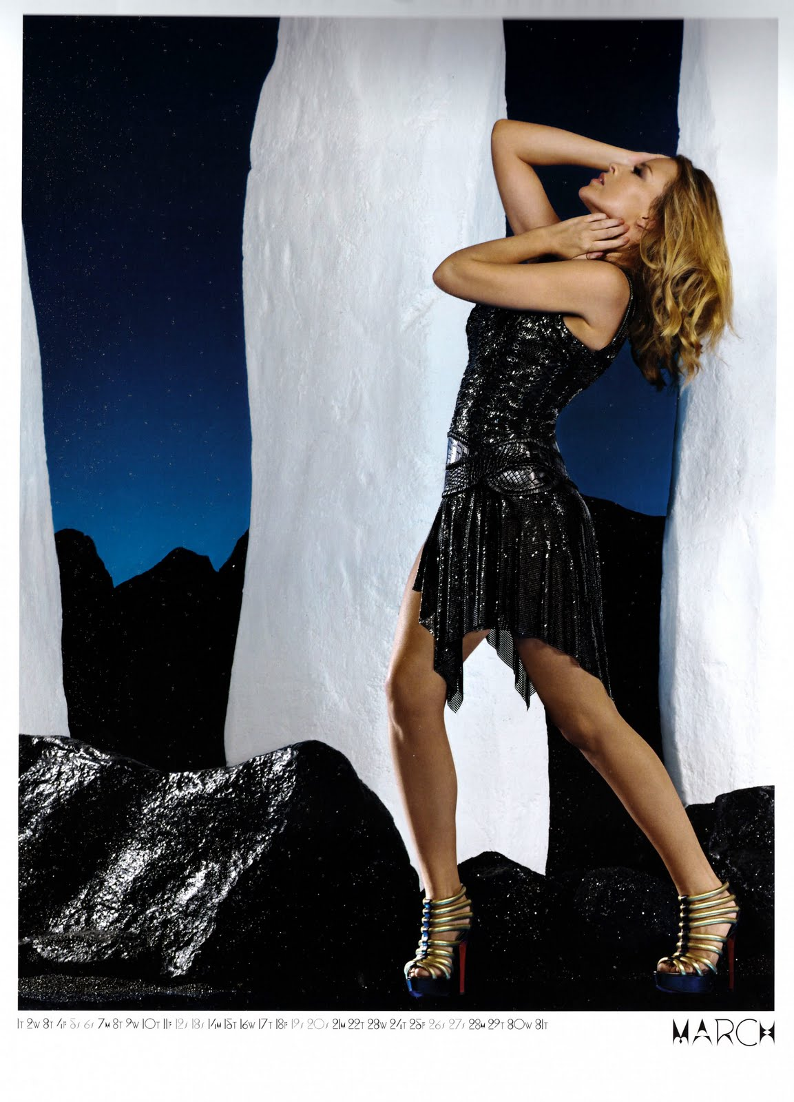 Kylie Minogue Calendrier 2011