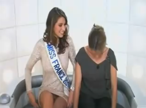 Miss France 2011 string Grand Journal