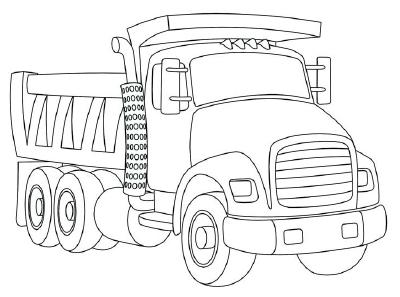 Desenhos Para Colorir Em Geral Desenho De Caminhoes E Maquinas