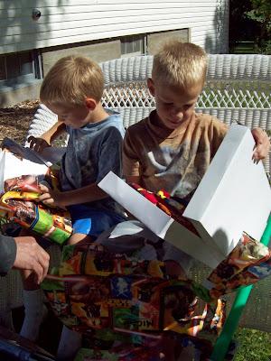 Salmon Tolman Fam 1 Birthday 2 Boys 3 Parties 6 Years