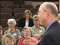 Dr. Don Read leads the Dallas support group for West Nile virus survivors.