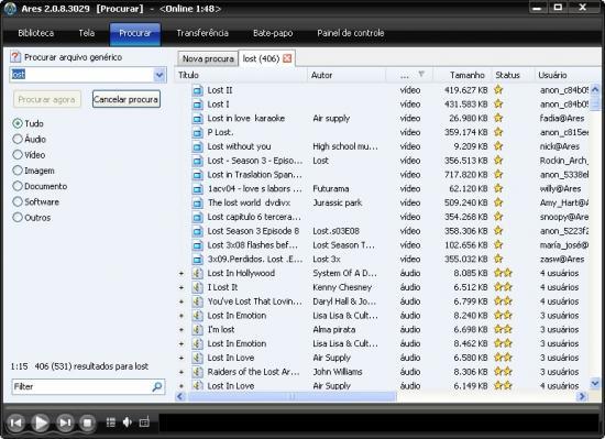 Ares Galaxy 2.4.6 - Κατεβάστε τα πάντα από το διαδίκτυο δίχως ενδοιασμούς
