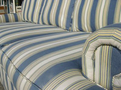 Sold Striped Sofa 125