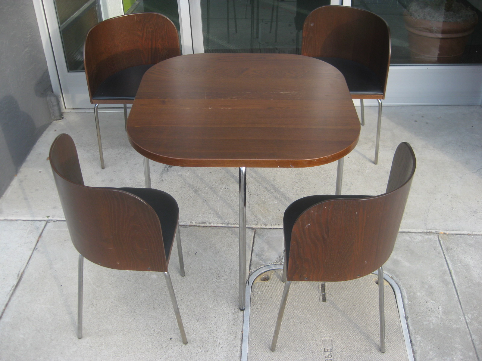Sold Ikea Fusion Table And 4 Chairs 150