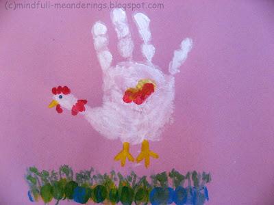 handprint+chicken