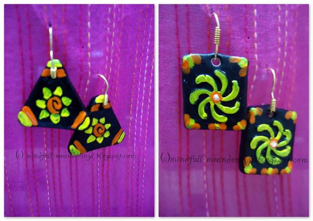 Clay+earrings