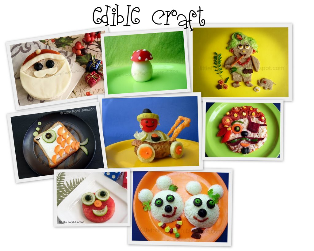 Edible crafts little food junction artsy craftsy mom forumfinder Image collections