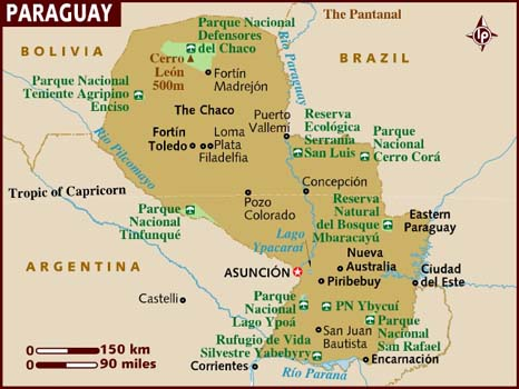 Paraguay turismo alternativo   Sitios donde viajar